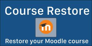 Moodle Course Restore